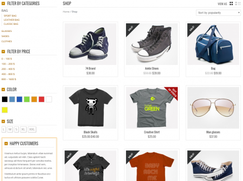 Feature Overview: Product Filter (E-Commerce)